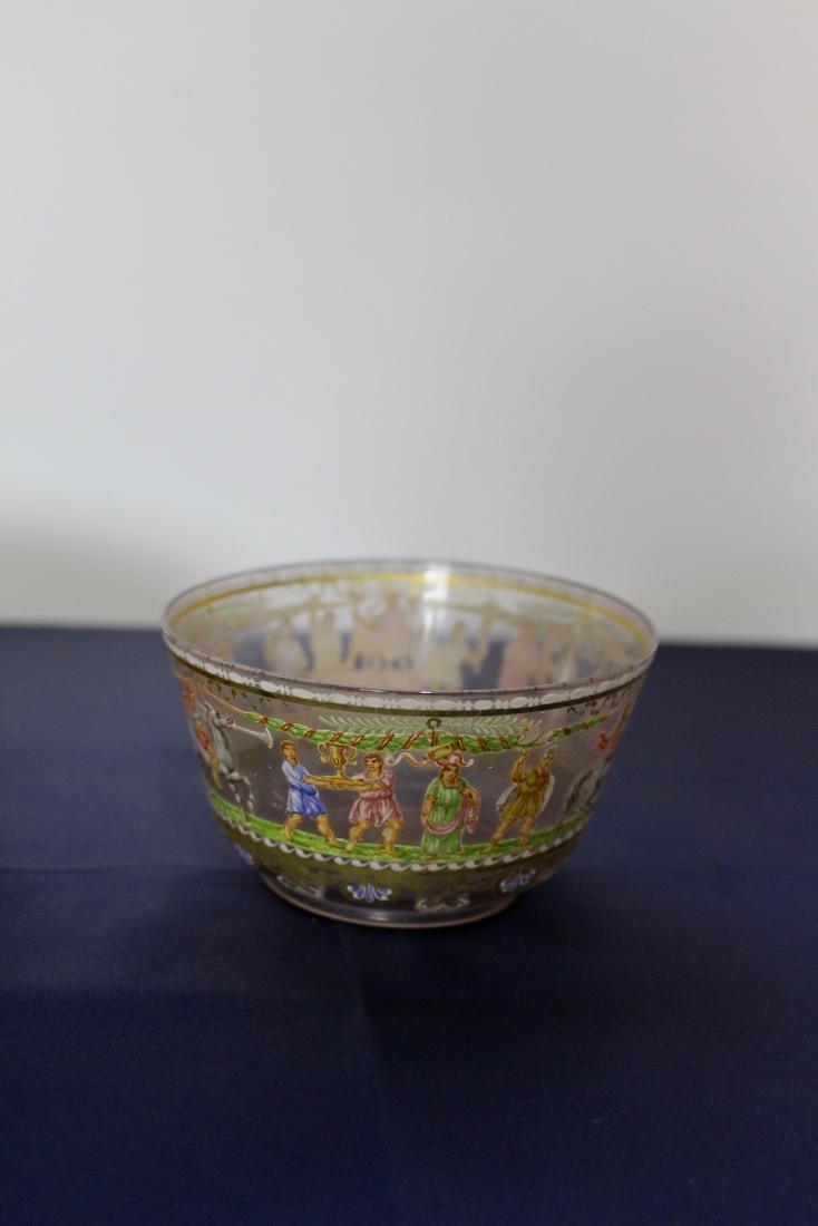 Set of 21 Excellent Decorated Venetian Glassware - 7
