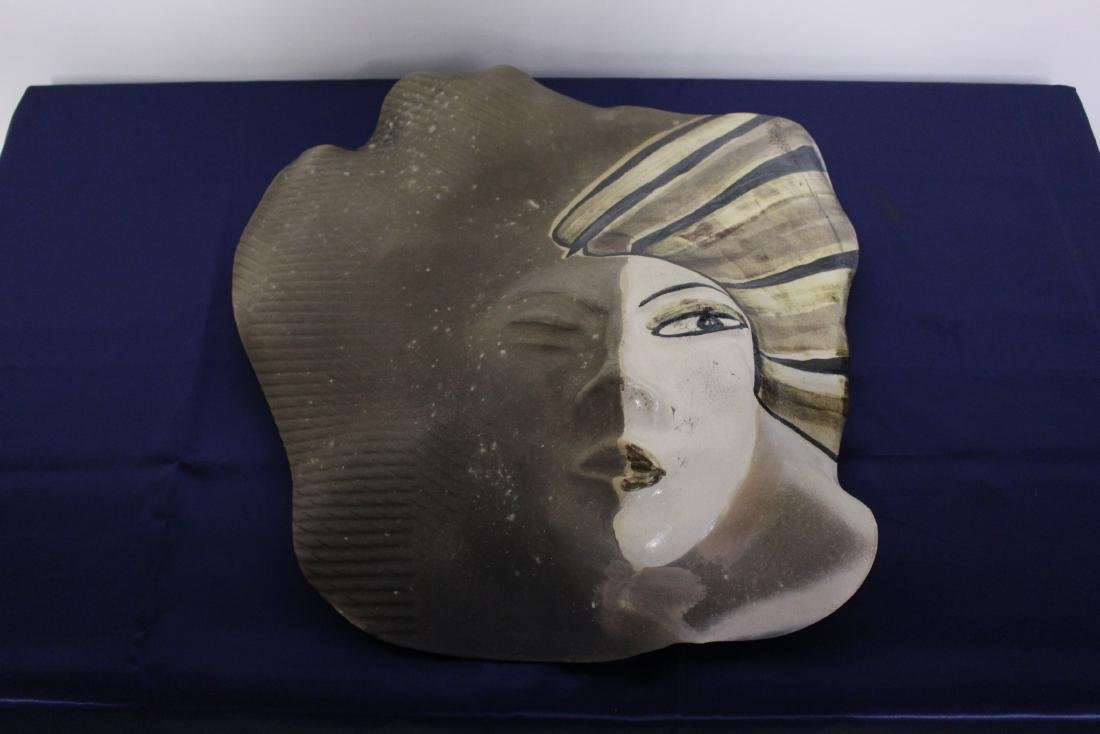 Painted Mask Wall Plaque