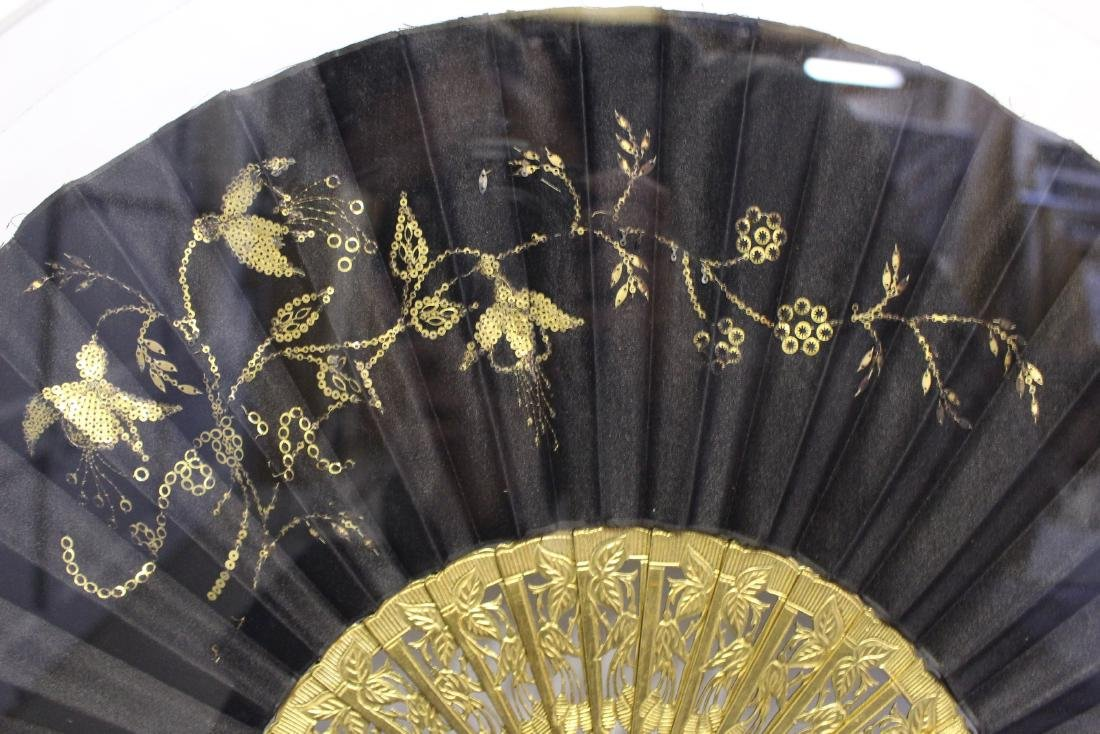 Pair of Antique Chinese Fans - 5