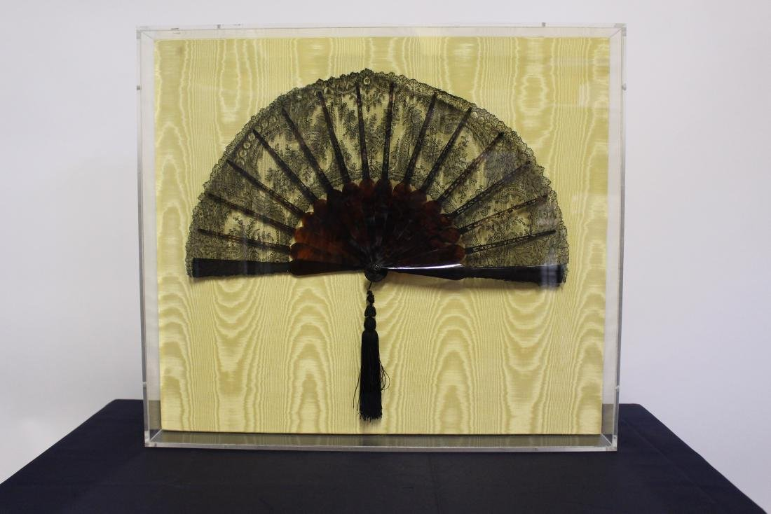 Large Antique Chinese Fan
