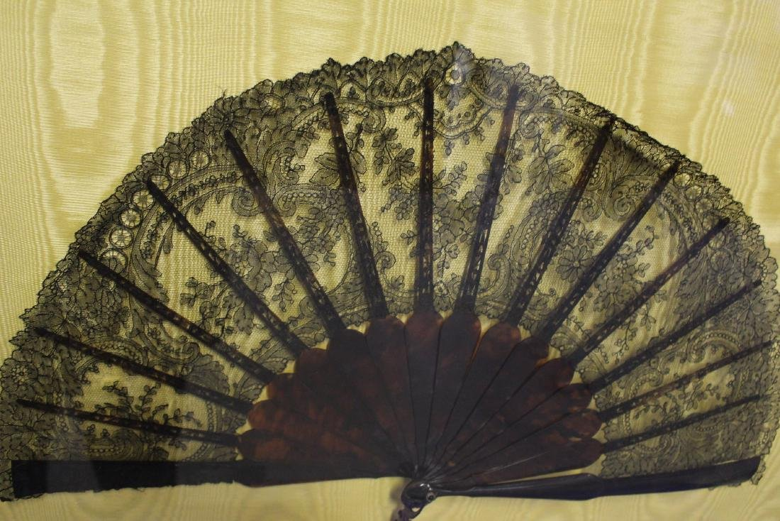 Large Antique Chinese Fan - 4