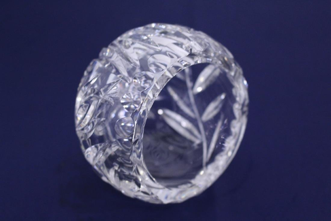 Unique Spherical Cut Crystal Candy Dish - 2