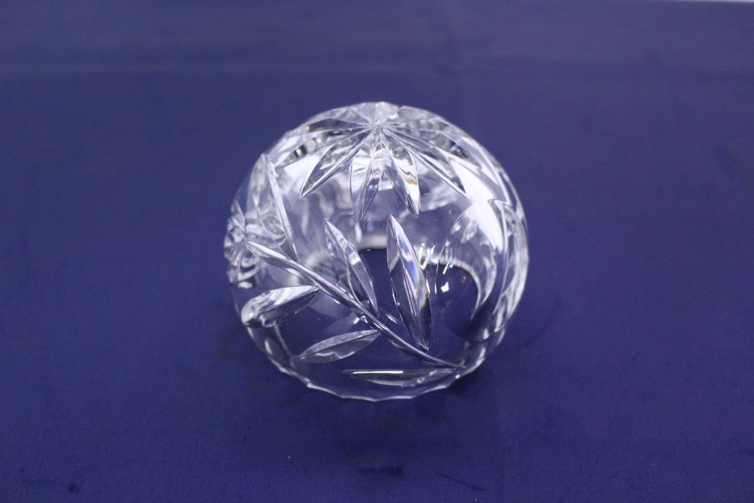 Unique Spherical Cut Crystal Candy Dish - 3