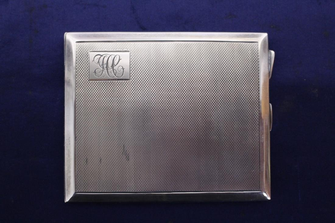 Sterling Silver Cigarette Holder with Personal