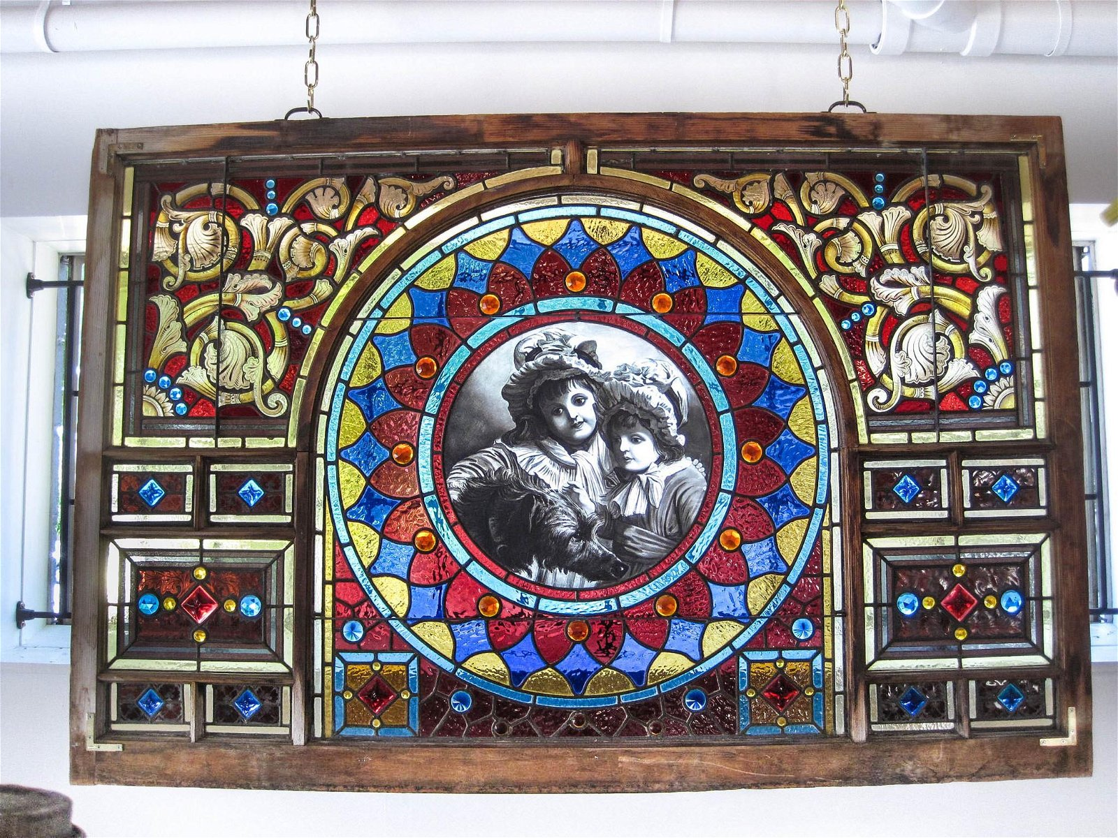 Portrait Stained Glass Window