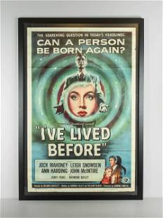 "Original Movie Poster, ""I've Lived Before"""