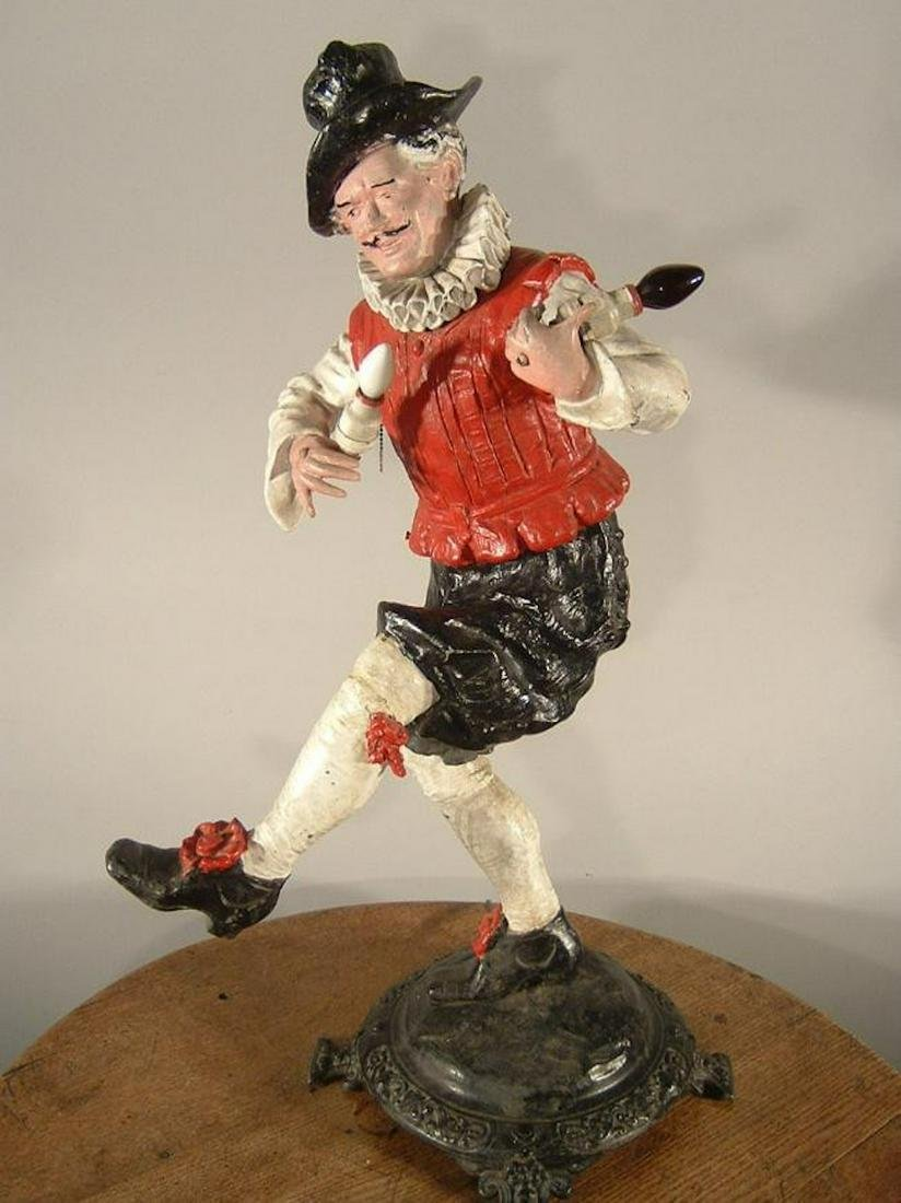 Early Electric Figural Novelty Lamp