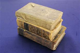 3 18th to 19th Cent. Books including Shakspeare