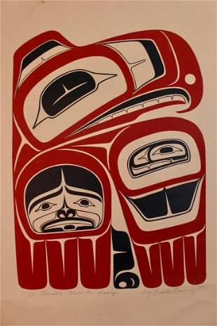 """""""Haida Hawk Design"""" by Northwest Coast Indigenous"""