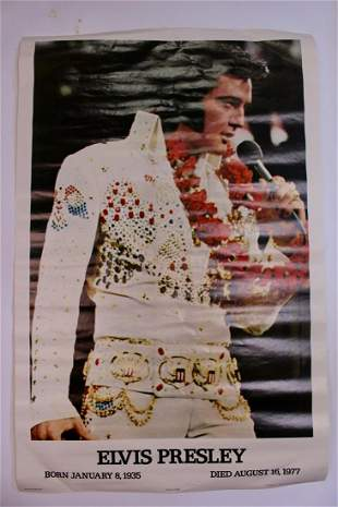 Elvis Presley Memorial Poster (Hawaii)