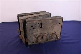 Rare 19th Century Box Locks