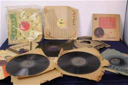 Set of 12 Assorted Old Music Records