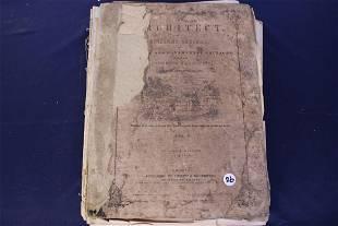 Antique Book The Architect Vol 2 by William H. Ranlett