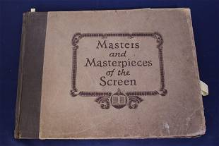 Antique Book Masters and Masterpieces of the Screen