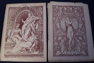 Circa 1882 Frontispiece to Decoration Vol.IV.