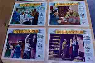 Set of 40 Movie Lobby Cards from 1950s to 1960s