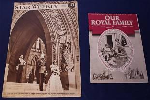 1939 Toronto Canada Star Weekly Visit of King George VI