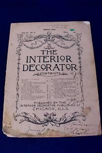 The Interior Decorator Vol. 3 No. 5 Circa 1893
