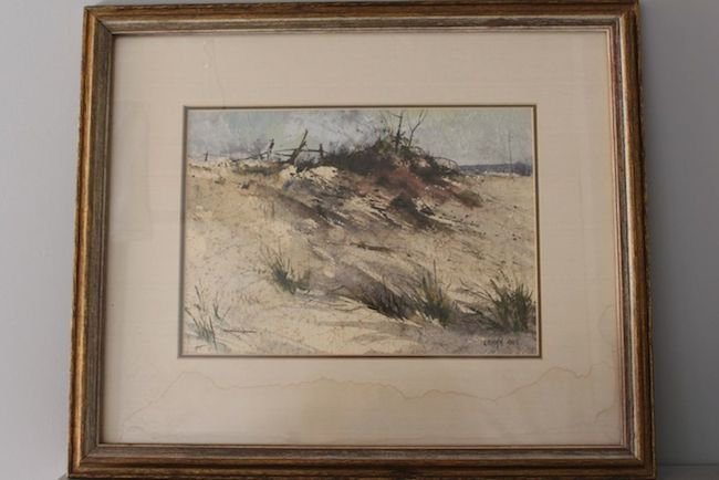 Sand Dune Beach Landscape by Alan Robert Chiara