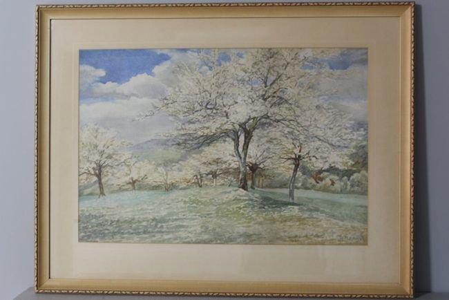 Tree Landscape by R.F. Lloyd