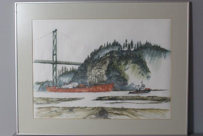 Tarental Clearing 1st Narrows by Ray Warren
