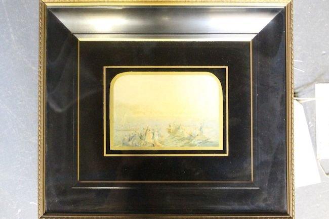Framed George Baxter Print No. 277