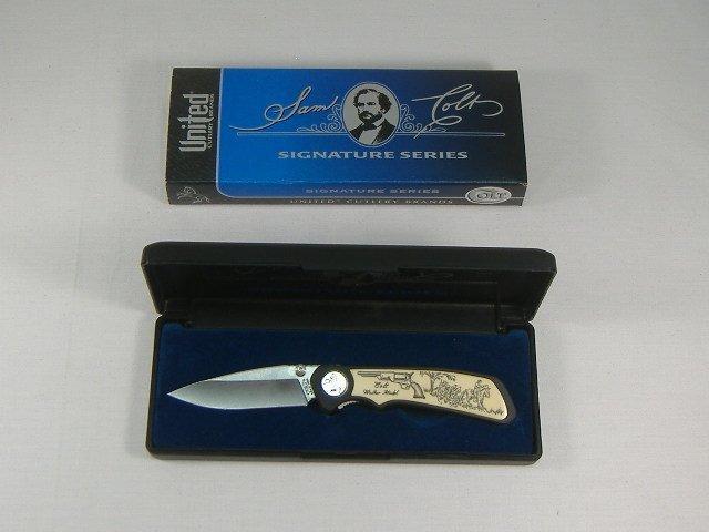 Vintage Sam Colt Signature Series Walker Pocket Knife