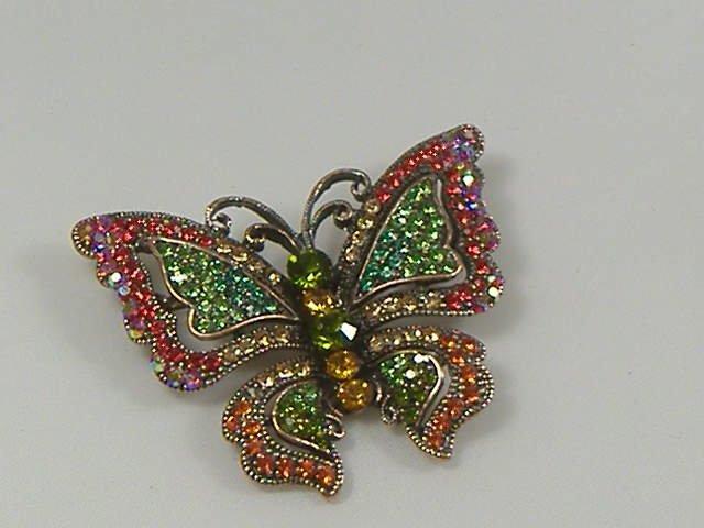 Swarovski Crystal Butterly Pin/Brooch