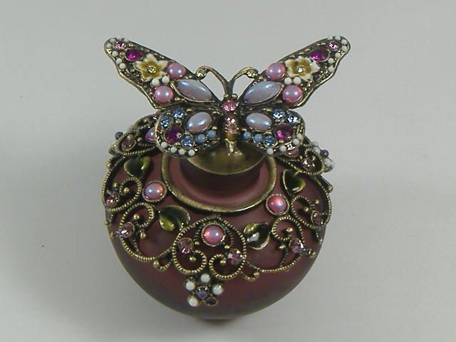 Ann Primrose Murano Collection Perfume Bottle