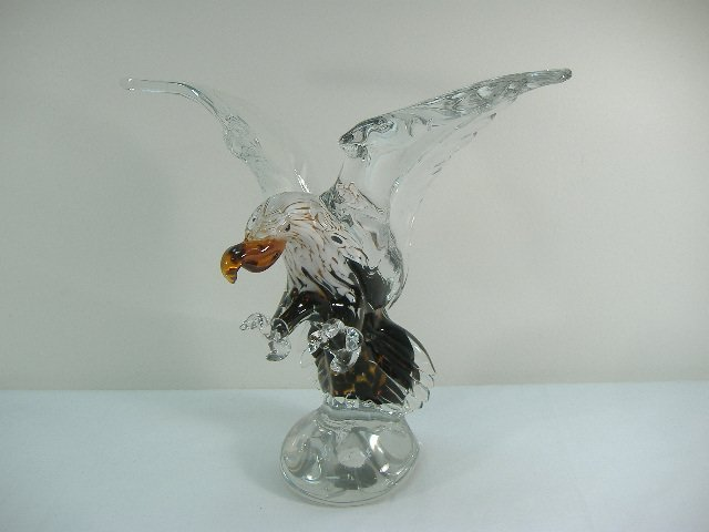 Ann Primrose Hand Signed Soaring Eagle Sculpture