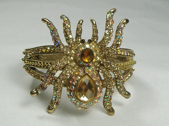 Swarovski Crystal Spider Bangle