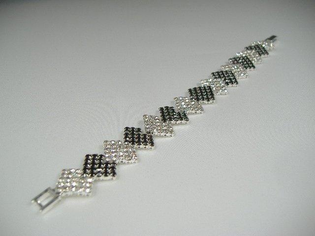Vintage Swarovski Crystal Tennis Bracelet