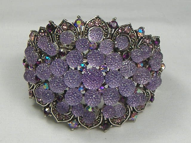 Vintage Swarovski Crystal Bangle Bracelet