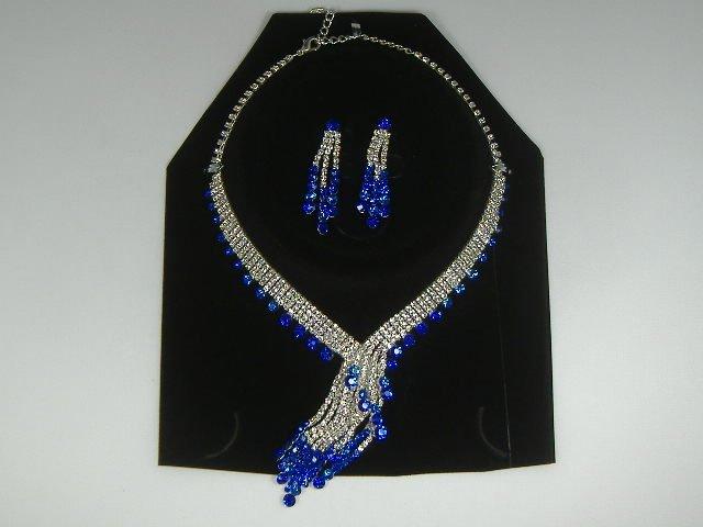 Vintage Swarovski Crystal Necklace & Earring Set