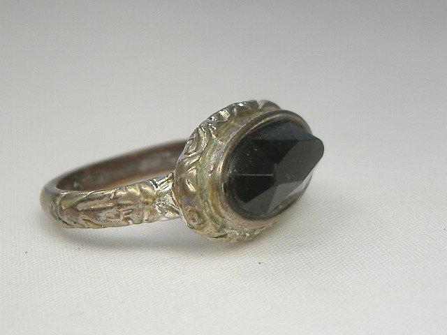 Vintage Onyx Stone Ring
