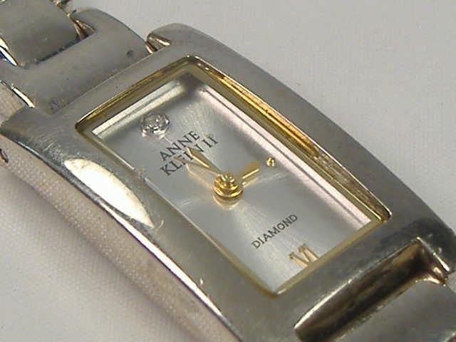 Vintage Anne Klein Ladies Diamond Watch