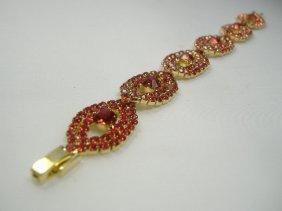 Ann Primrose Crystalleria Designer Tennis Bracelet