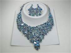 Ann Primrose Crystalleria Designer Necklace Set