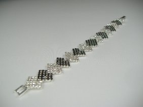Crystalleria Designer Tennis Bracelet