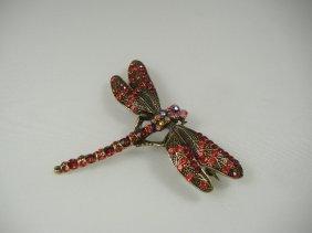 Crystalleria Designer Pin/Brooch