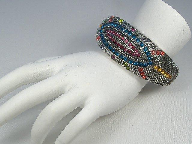 Swarovski Crystal Element Bangle Bracelet