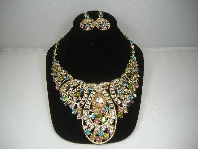 Swarovski Crystal Element Necklace & Earring Set