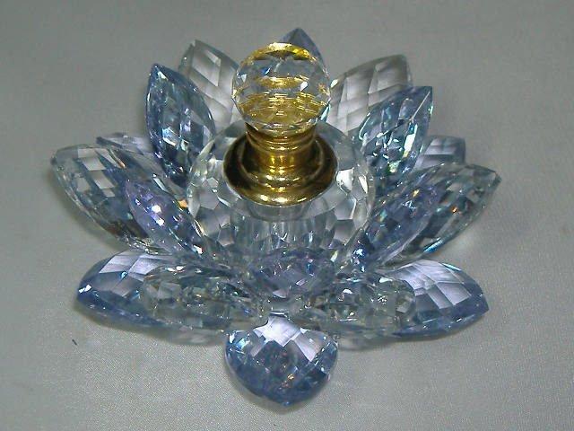 Murano MultiColor Iridescent Art Glass Perfume Bottle
