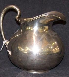 *MEXICAN STERLING SILVER PITCHER