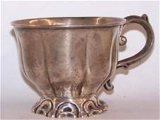 *TIFFANY & CO. STERLING SILVER PUNCH CUP