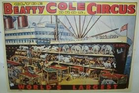 *UNFRAMED VINTAGE 1965 CIRCUS POSTER