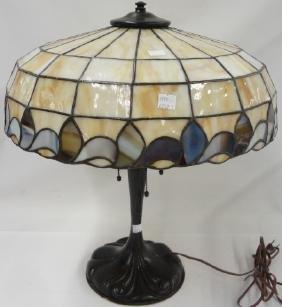 *ART NOUVEAU STYLE TABLE LAMP
