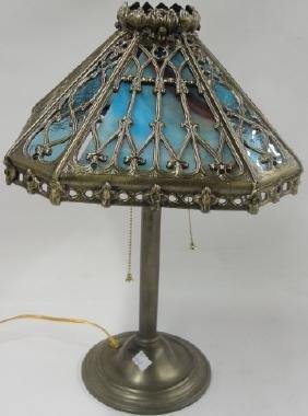 *ART NOUVEAU STYLE BOUDOIR LAMP