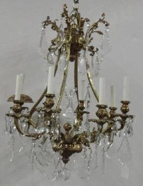 FRENCH STYLE HANGING LIGHT FIXTURE