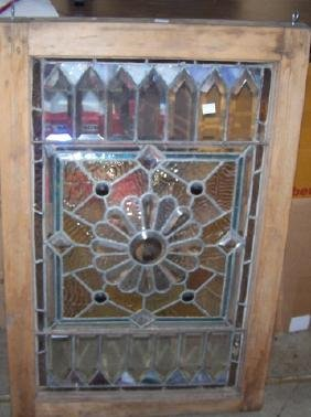 *STAINED GLASS WINDOW
